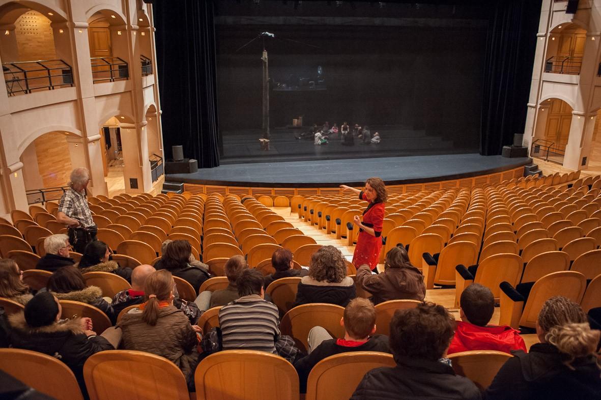 Visite guidée du théâtre