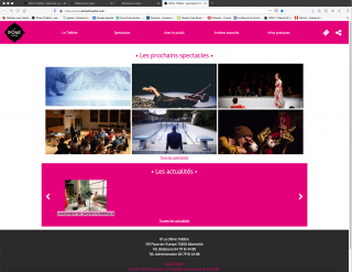 Billetterie en ligne Dôme Théâtre Albertville